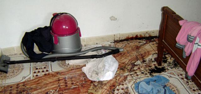 Imagen de una casa donde se cometió un presunto asesinato, en Latakia. Foto de HRW.