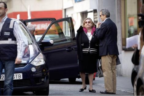 La juez Coro Cillán el pasado mes en Madrid.   Alberto Di Lolli