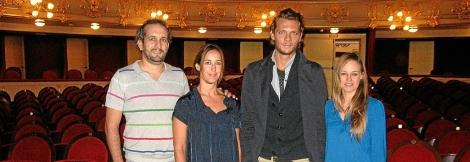 Pablo López, María Antonia Mas, Jean Philippe Dury y Cristina Juaneda. | Consell.