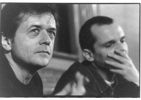 Patrice Chereau y Miguel Bosé, en 1995. | Gatxu