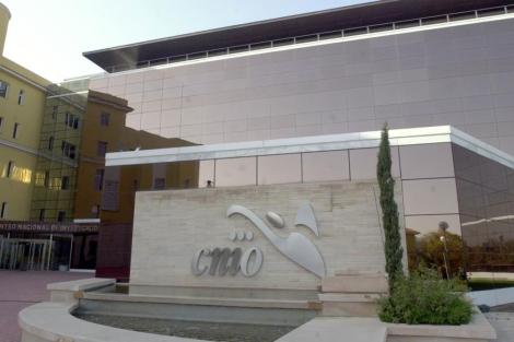 La fachada del CNIO.