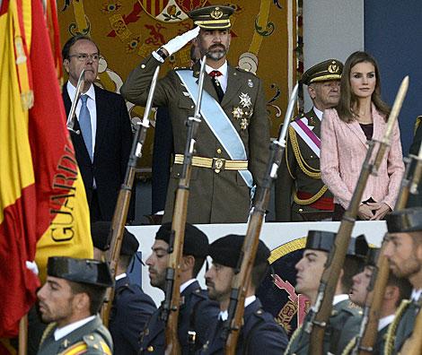 Vídeo del desfile militar. | Atlas | Bernardo Díaz