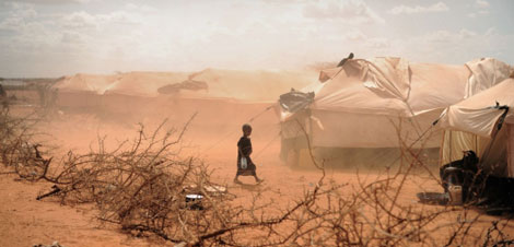 Tormenta de arena en Dolo Ado (Etiopía). | Jan Grarup | Noor for Save the Children
