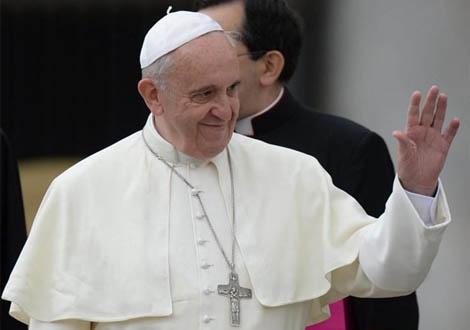El Papa en la Plaza de San Pedro del Vaticano. | Efe
