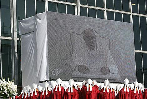 Los obispos siguen el mensaje del Papa. | Efe