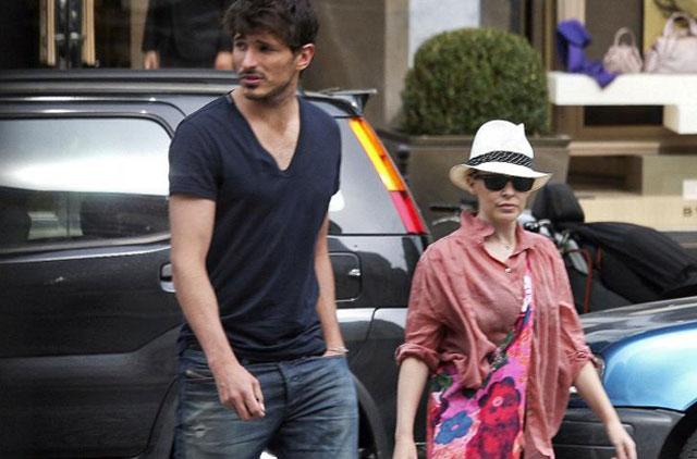 La pareja, durante unas vacaciones en Ibiza.