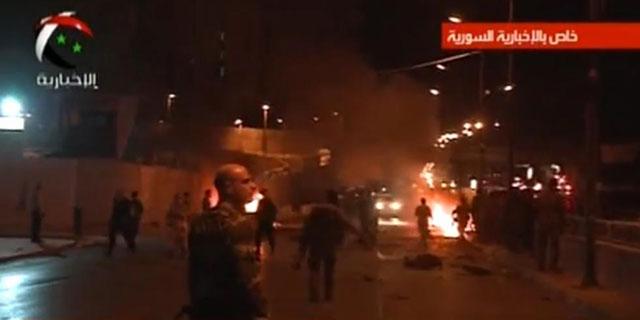 Imágenes del doble atentado en el centro de Damasco. | Al Ikhbariya
