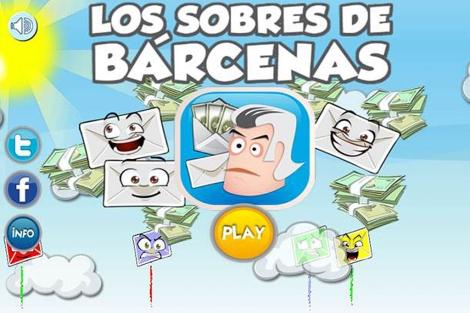 Captura de la aplicación Barcenas!.