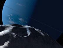Recreación de Náyade con Neptuno. | NASA