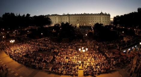 Proyección de ópera en la Noche en Blanco de 2010 | Alberto Di Lolli