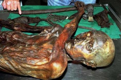 La momia de Ötzi.   Reuters