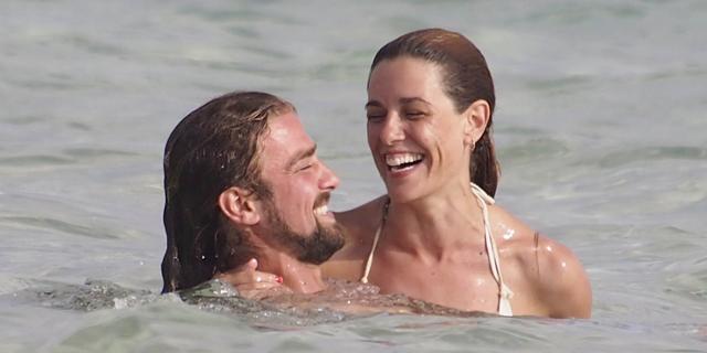 Raquel Sánchez Silva y Mario Biondo, en Formentera en el verano de 2012. | Gtres