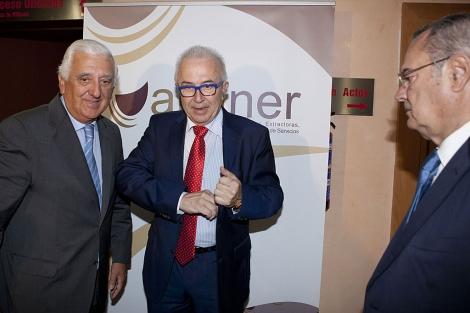 El consejero de Economía, José Sánchez Maldonado, en las jornadas de minería. | Conchitina