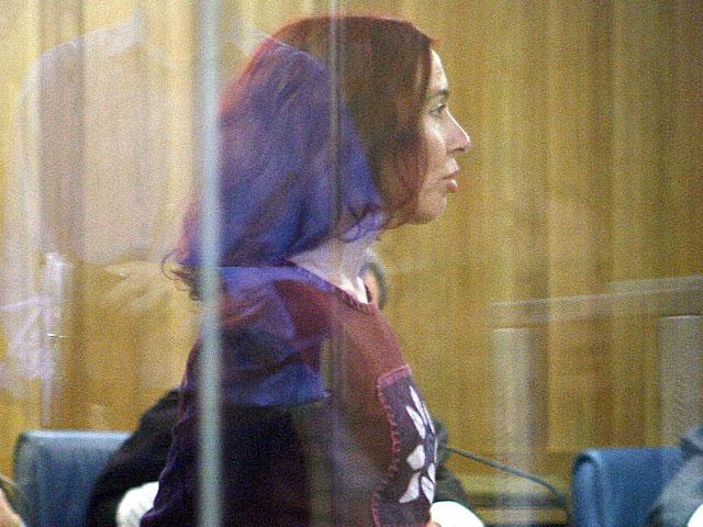 La etarra Inés del Río, en un juicio celebrado en La Audiencia Nacional en 2006 .| Pool Efe