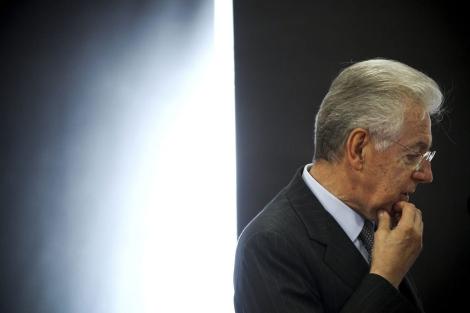 El ex primer ministro italiano Mario Monti en Lisboa. | Efe