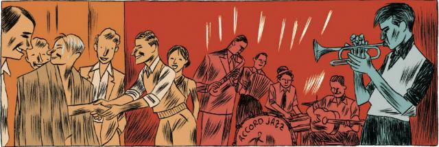 Imagen del cómic de Christian Cailleaux y Hervé Bourhis publicado por Impedimenta.