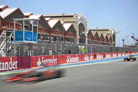 Imagen del último GP de F1 celebrado en el circuito urbano de Valencia | Vicent Bosch