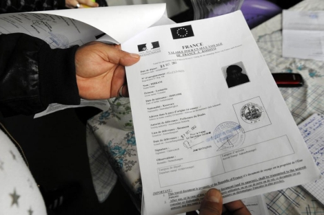 Orden de extradición de Leonarda Dibrani. | Afp
