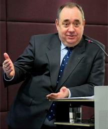 Salmond, en una imagen reciente. | Efe