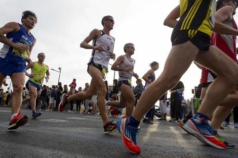 Imagen de la media maratón de Valencia | Benito Pajares