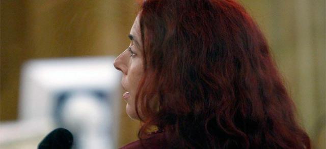La etarra Inés del Río, durante un juicio en la Audiencia Nacional. | Efe