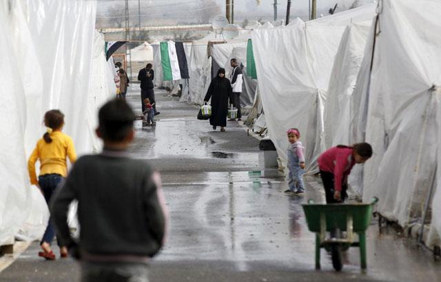 Refugiados sirios en la provincia turca de Hatay, | Reuters