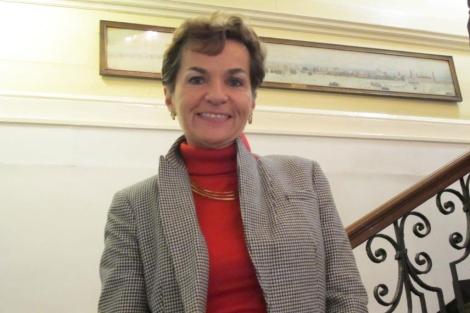 Christiana Figueres. | Carlos Fresneda