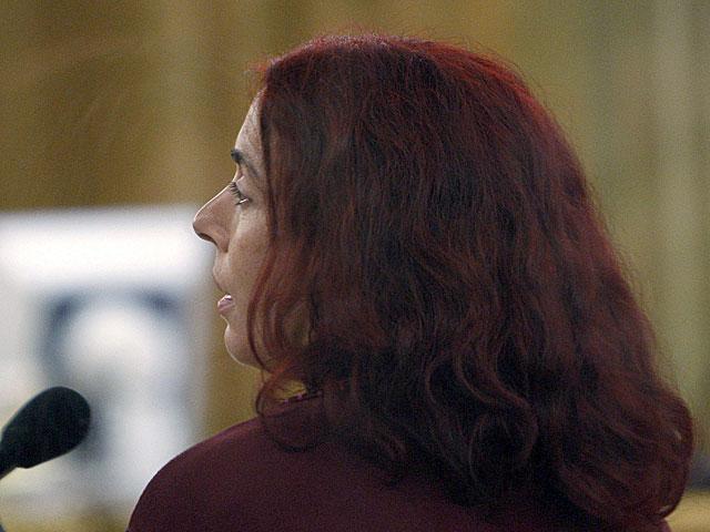 Inés del Río, en un juicio en la Audiencia Nacional. | Sergio Barrenechea