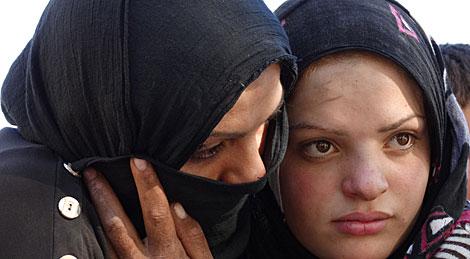 Refugiadas sirias en territorio turco. | V. R.