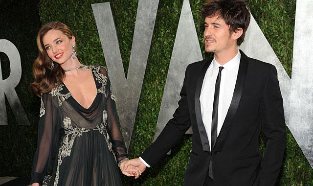 Miranda Kerr y Orlando Bloom, el pasado febrero. | Gtres