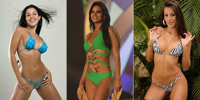 Rosita (Miss Venezuela, en libertad condicional), Gabriela Fernández (Miss Zulia, en prisión) y Karla Osuna (modelo, en prisión).