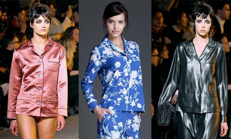 Marc Jacobs propone camisas tipo pijama. Conjunto, de Women'Secret.