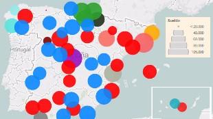 ¿Quién es el alcalde que más (y menos) cobra en España?