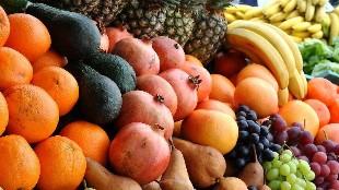 Las frutas con menos y más calorías