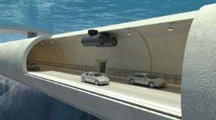 Así será el primer túnel flotante del mundo