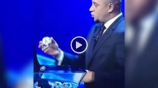 El famoso cambio de bola de Roberto Carlos