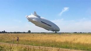 El avión más grande del mundo se estrella