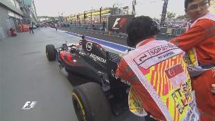 Primer susto para McLaren