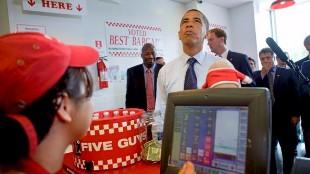Las hamburguesas preferidas de Obama llegan a España