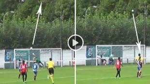 ¡El gol más loco del año que se ha hecho viral!