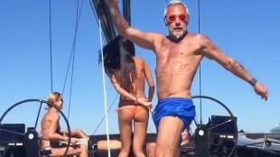 Así es el velero de Gianluca Vacchi