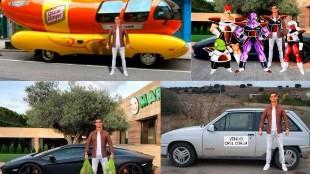 Los memes del coche de Cristiano Ronaldo