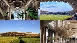 Así será el primer estadio de madera de la historia del fútbol