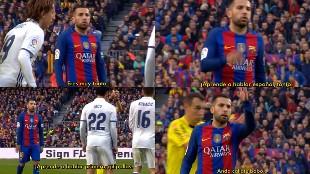 "Jordi Alba a Kovacic: ""Aprende a hablar español, tonto"""