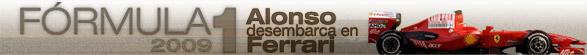F1 2009. Alonso desembarca en Ferrari