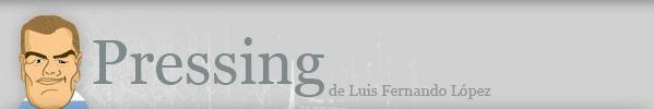 Pressing de Luis Fernando López