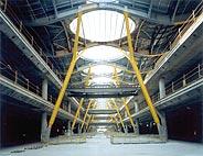 Imagen de la nueva terminal de Barajas, tomada en 2003. (Foto: J. A. CARRERA)