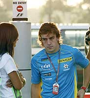 Alonso. (Foto: AFP)