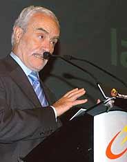 Víctor Cordero, director general de la Vuelta. (Foto: EFE)