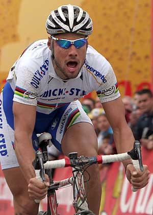 Tom Boonen consiguió su victoria en la última etapa. (Foto: EFE)